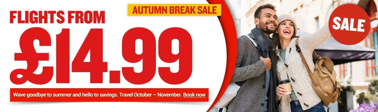 Ryanair Autumn Sale