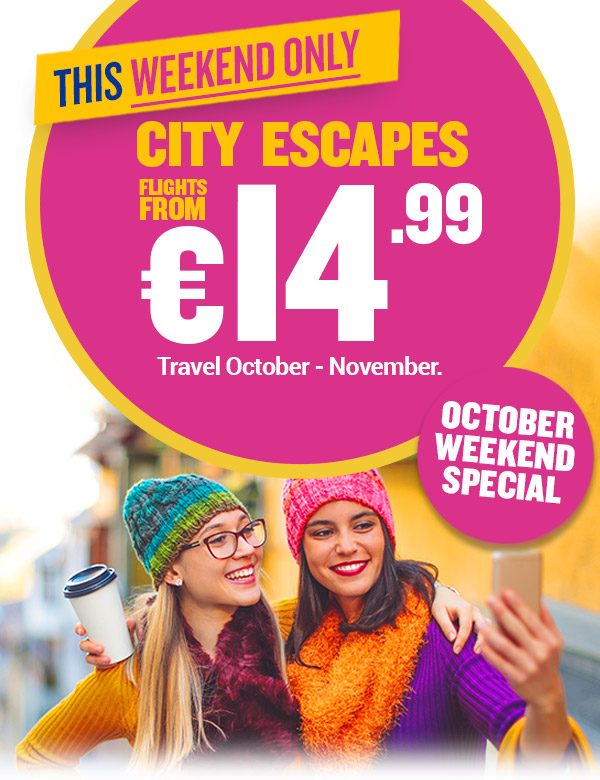 Ryanair latest october offers