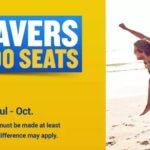 Summer Savers 20% Off 500.000 Seats