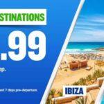 Cheap flights to Malta, Ibiza and Palma Mallorca from £9.99