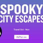 Spooky city escapes