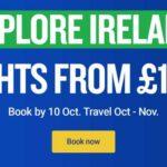 Flights to Ireland from £9.99